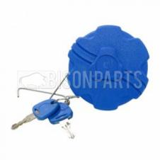 60MM BLUE PLASTIC SCREW TYPE LOCKING ADBLUE TANK CAP