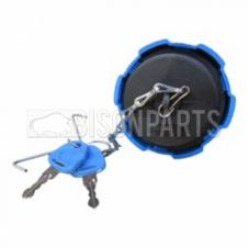 60MM BLUE PLASTIC SCREW TYPE LOCKING ADBLUE TANK CAP