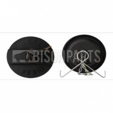 60mm Plastic Vented Screw Locking Tank Cap (Round Shape with Diesel Imprinted on it)