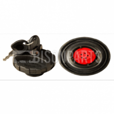 PLASTIC LOCKING VENTED SCREW TYPE FUEL CAP 38.5MM