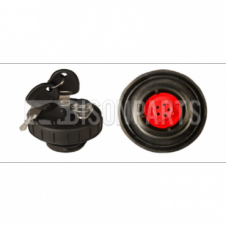 38.5 mm Plastic Vented Screw Locking Tank Cap with Protective Cover