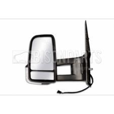 MERCEDES SPRINTER & VOLKSWAGEN CRAFTER HEATED & ELECTRIC LONG ARM MIRROR HEAD PASSENGER SIDE LH