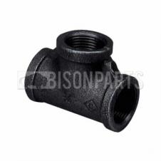 Malleable Iron Female Equal Tee - 1/4inch