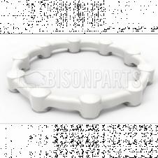 Safewheel Wheel Nut Retainer White Sizes 24, 27, 30, 32, 33mm