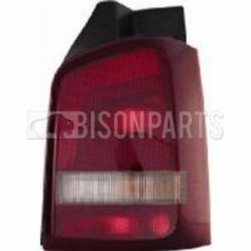 VOLKSWAGEN TRANSPORTER 2010- REAR LAMP (RED/SMOKED IND) RH