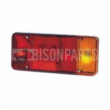 REAR TAIL LAMP LENS (FOG) DRIVER SIDE RH