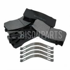 MAN LE, TGL & TGM & MERCEDES ATEGO FRONT OR REAR BRAKE PAD SET & FITTING KIT