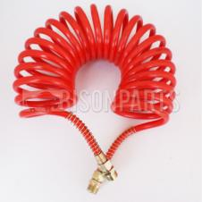 EMERGENCY AIR LINE COIL RED 22 TURN 4.15M
