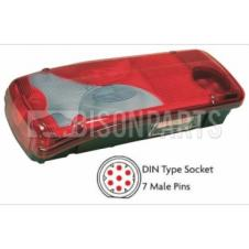 MAN TGA, TGL, TGM, TGS & TGX REAR COMBINATION LAMP PASSENGER SIDE LH