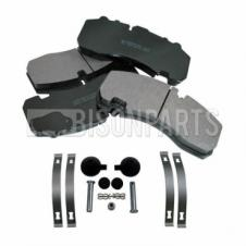 BPW TRAILER BRAKE PAD & FITTING KIT SET