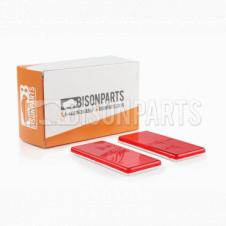 RED SELF ADHESIVE REAR REFLECTOR (PAIR)