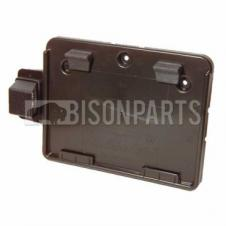 NUMBER PLATE HOLDER C/W NUMBER PLATE LAMP - THERMOPLASTIC