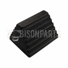 HEAVY DUTY WHEEL CHOCK RUBBER (SINGLE)
