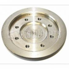 TRAILER KING PIN BACK PLATE TO SUIT 8MM RUBBING PLATE