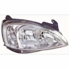VAUXHALL COMBO 2001-2012 HEADLAMP DRIVER SIDE RH