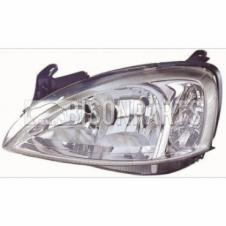 VAUXHALL COMBO 2001-2012 HEADLAMP PASSENGER SIDE LH