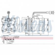 DAF 95 (1987 -) XF95 (1997 -) Compressor