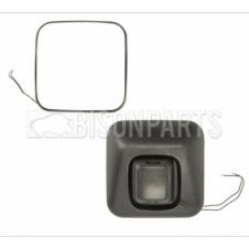 MANUAL WIDE ANGLE MIRROR HEAD FITS RH OR LH