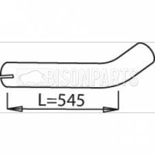 DAF 2100, 2105, 2300, 2305, 2205, 2600 EXHAUST REAR PIPE