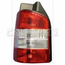 VOLKSWAGEN TRANSPORTER T5 2003 - 2016 REAR TAIL LAMP LH/NS (FOR SINGLE / BARN REAR DOOR)