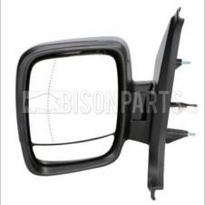 RENAULT TRAFIC VAUXHALL VIVARO FIAT TALENTO NISSAN NV300 MIRROR HEAD HEATED & ELECTRIC LH