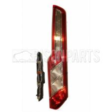REAR PANEL VAN REAR TAIL LAMP, BULB HOLDERS & BULBS DRIVER SIDE RH