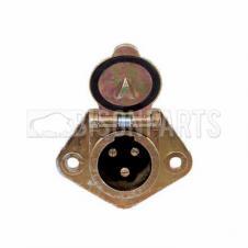 3 PIN ELECTRICAL SOCKET - 24V / 24 AMP