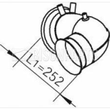 DAF CF75 EXHAUST INTERMEDIATE PIPE