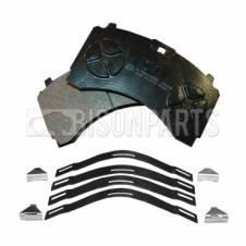 MERCEDES ACTROS MP2 & MP3 (2002 - 2011) FRONT BRAKE PAD SET C/W FITTING KIT