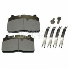SAF, GIGANT & KRONE TRAILER BRAKE PAD SET C/W FITTING KIT