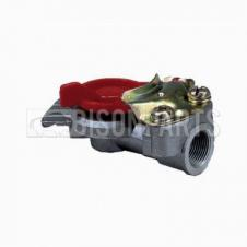 TRAILER AIR LINE LIGHT WEIGHT ALLOY RED PALM COUPLING M22x1.5 TAPERED