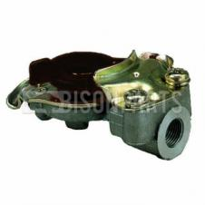 TRAILER AIR LINE LIGHT WEIGHT ALLOY BLACK PALM COUPLING M16 x1.5 TAPERED