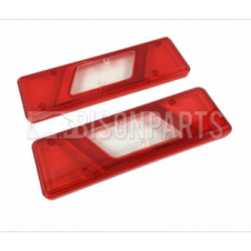 FORD TRANSIT MK8 2014 ONWARDS REAR TAIL LAMP LENS ONLY RH & LH (PAIR)