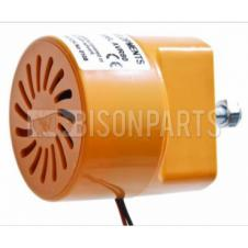 12/24 VOLT REVERSING ALARM WITH GEAR SELECT & DOUBLE ENGAGE FOR NIGHT SILENT FUNCTION & OVERIDE