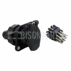 ABS 15 PIN ELECTRICAL SOCKET 24V C/W SCREW TERMINALS