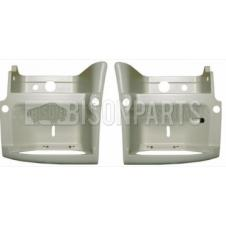 Renault Premium Version 2 (05-10) Version 3 (10 On) / Volvo FE Step Surround PAINTED WHITE LH & RH (Pair Of)