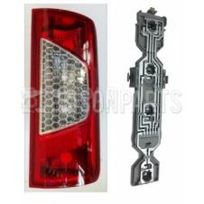 FORD TRANSIT CONNECT 2009-2014 PANEL VAN REAR LAMP & BULB HOLDER RH/OS