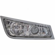VOLVO FH VERSION 3 2008-2013 FRONT FOG & SPOT LAMP (SILVER FINISH) DRIVERS SIDE RH
