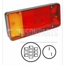BP90-101//102 *IVECO EUROCARGO Rear Tail Light Lamp Lens LH /& RH Fog /& Reverse
