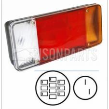 IVECO EUROCARGO & DAILY TIPPER REAR COMBINATION LAMP WITH REVERSE LH