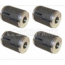 DAF 65CF, 75CF, 85CF, CF85, XF95, XF105 SPRING EYE BUSH STANDARD VERSION (SET OF FOUR)