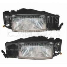 IVECO EUROCARGO (PLASTIC BUMPER ONLY) HEADLAMP (WITH LOAD LEVELLER) LH & RH (Pair Of)