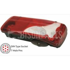 SCANIA EURO 6 SERIES 2013 ONWARDS REAR COMBINATION LAMP WITH REVERSING ALARM RH