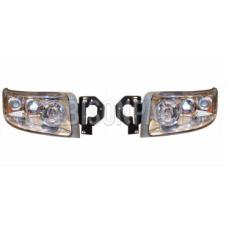 Renault Premium Version 2 (05-10) Version 3 (10 On) Headlight / Headlamp Clear Lens (5 Light Function) *Manual Adjust LH & RH (Pair Of)