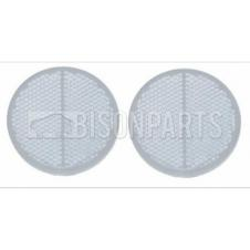 TRUCKLITE CLEAR ROUND SELF ADHESIVE  REFLECTOR (PAIR)