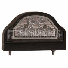 Number Plate Registration Lamp - LED 10-33 VOLT