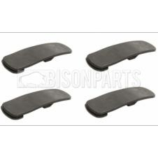 REAR AXLE WING TOP RUBBER STRAP (PKT 4)