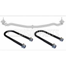 DAF CF65 & LF55 FRONT TWIN LEAF ROAD SPRING & U-BOLTS