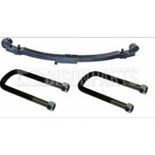 FRONT TWIN ROAD SPRING & U-BOLTS