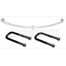 FRONT SUSPENSION TWIN ROAD SPRING & U-BOLTS